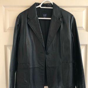 Vintage Leather Blazer- Gap 😎